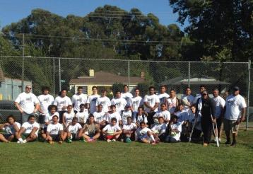 The Oakland Warthogs had a great turn out for Mandela Day!